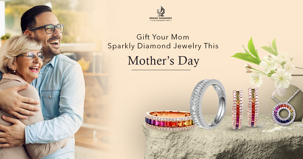 Gift Your Mom Sparkly Diamond Jewelry This Mother's Day